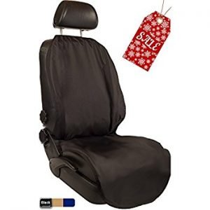 CleanRide Bacteria-Resistant and 100% Waterproof Workout Car Seat Cover and Protector