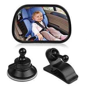 E-Bro No HeadrestUniversal Car Rear Seat View Mirror