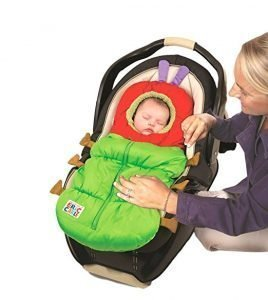 Eric Carle Infant Car Seat Bunting and Footmuff