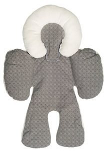 JJ Cole Reversible Baby Car Head and Body Support Pillow