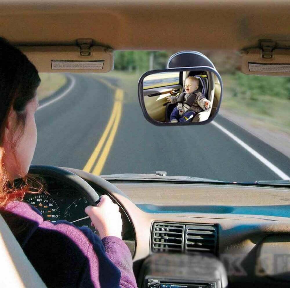 baby car mirror no headrest