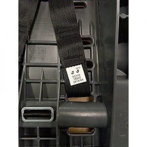 Webbing code on Graco My Ride 65 car seat