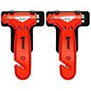 IPOW Car Safety Seatbelt Cutter and Window Punch Breaker