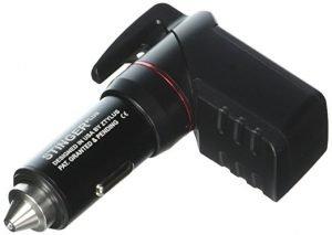 Ztylus Stinger Plus Car USB emergency escape tool, Spring Loaded Window Breaker Punch