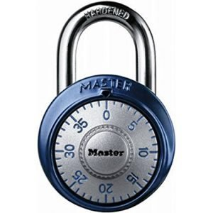 Master Lock 1561DAST best combination padlock for gym locker, most secure gym lock