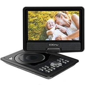 COOAU 11.5 inch best portable DVD player for car, best portable dvd player for toddler