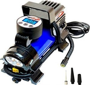 EPAuto 12V DC Portable Air Compressor Pump, best portable tire inflator