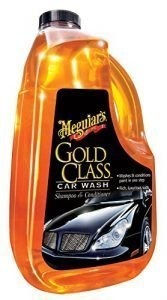 Meguiar's G7164 Gold Class soap for washing car, shampoo and conditioner for car exterior