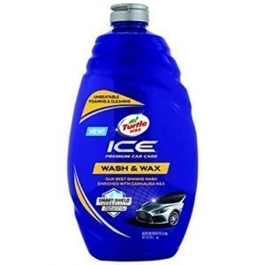 Turtle Wax T-472R ICE car wash and cleaner, not the best scratch remover for black cars