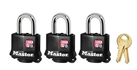 Keyed alike padlocks for multiple users