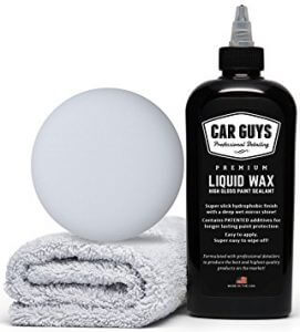 CarGuys Liquid Wax - The Ultimate Car Wax Shine, best spray detailer for black vehicles