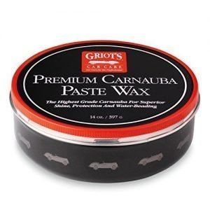 Griot's Garage 11029 Premium Carnauba Paste Wax 14oz, best wax to use on black vehicles, top rated car wax for black cars