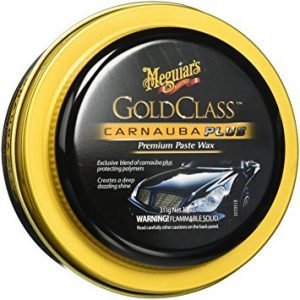 Meguiar's G7014J Gold Class Carnauba Plus Paste Wax, best swirl remover for black paint, best wax for black cars with scratches
