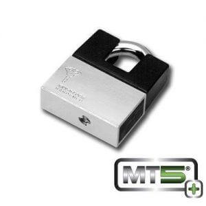 Mul-t-lock MT5+ 13 C-Series lock with Protector - best lock for self storage unit, best lock for uhaul truck