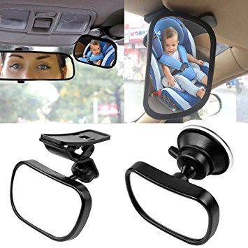 benefits of a child auto mirror, baby mirror no headrest