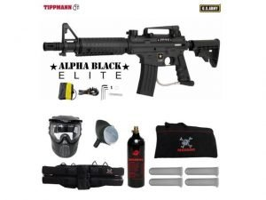 Tippmann US Army Alpha Black Elite best long distance paintball gun, long range paintball gun, most accurate paintball gun, best paintball guns for long range