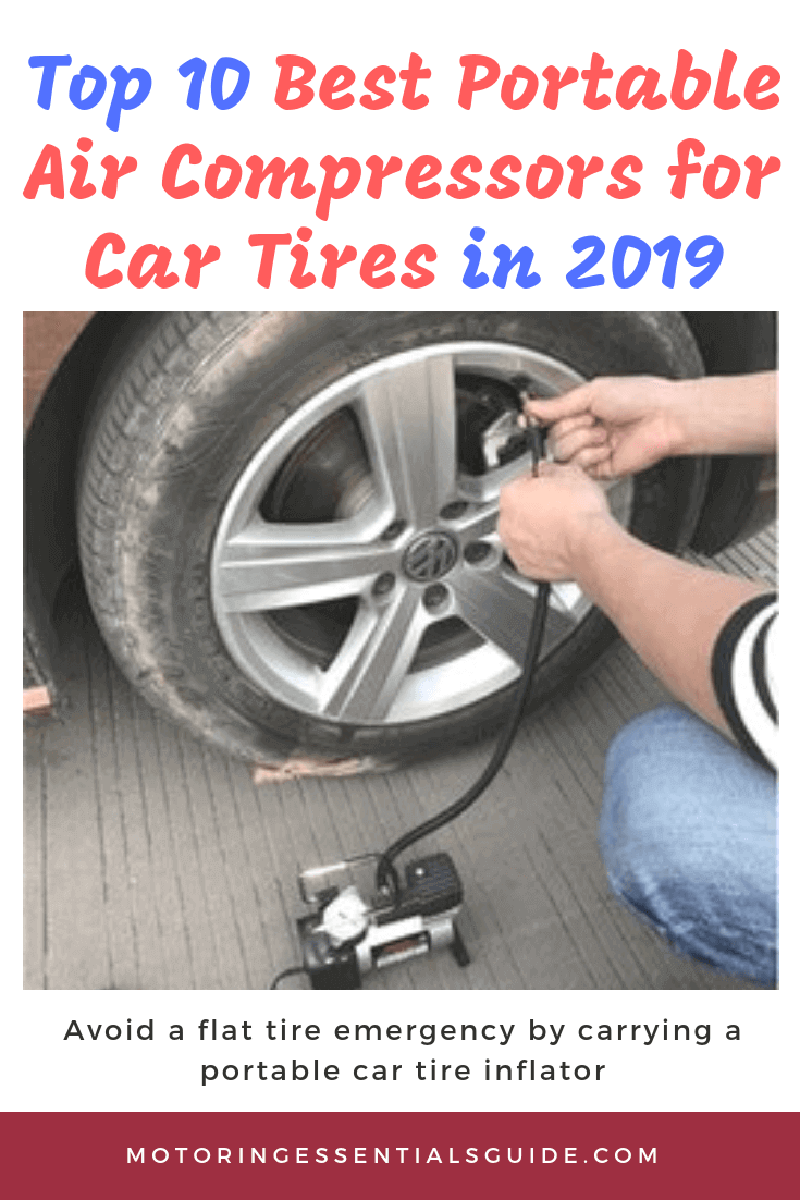 Car tire pressure loss is inevitable due to the many subtle causes and you can easily find yourself with a flat tire in the middle of nowhere. To avoid such an unnecessary risk, arm yourself with one of the best portable air compressor for car tires in this review.