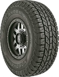 Yokohama Geolandar A T G015 all-terrain radial treads tire, best all terrain tire for traction