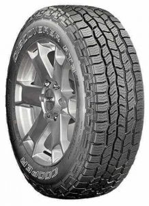 One of the best pickup truck tires for all terrain, made by Cooper Discoverer