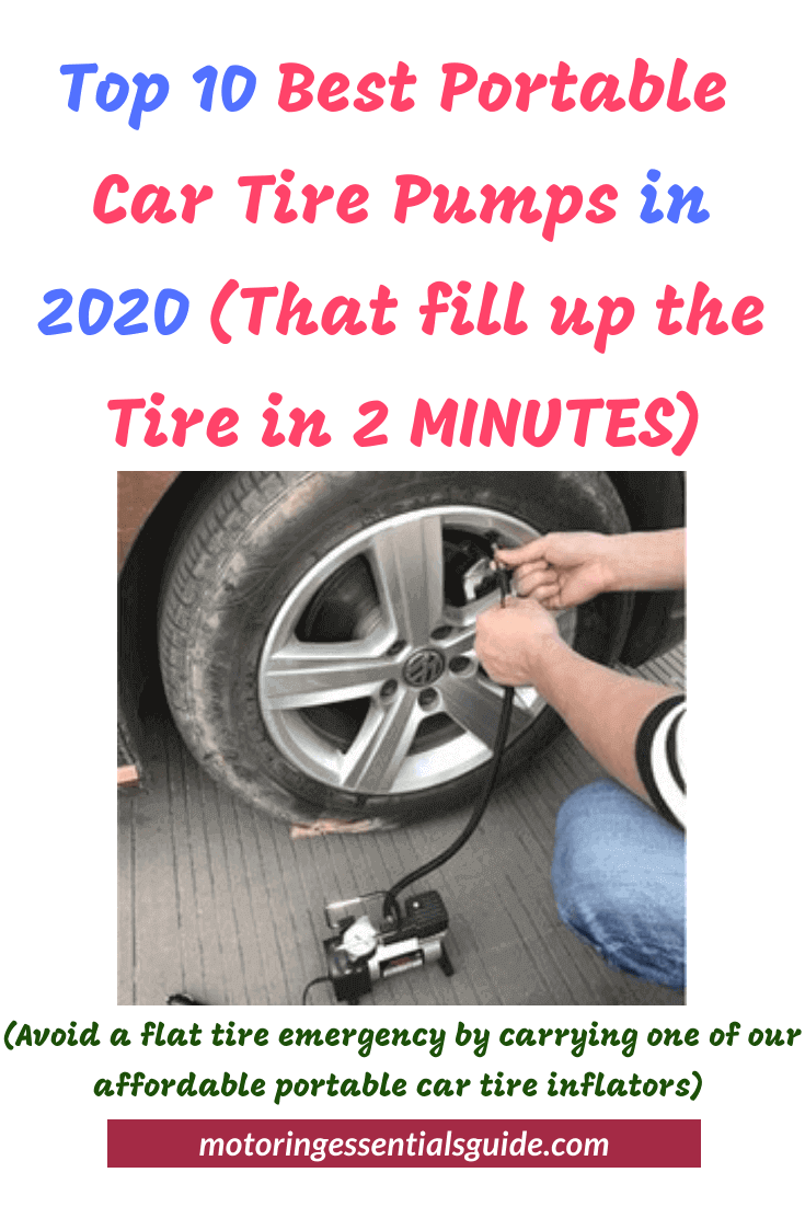 best portable air pump for car tires reviewed