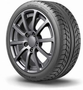 g-Force Sport COMP-2 tire made by BFGoodrich, best durable tire for the money