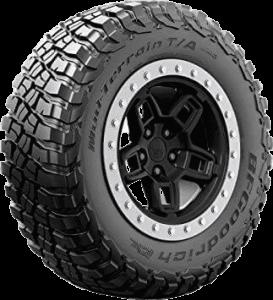 BFGoodrich radial tire for mud terrain, best all terrain tire for highway
