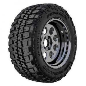 A muddy terrain tire for light trucks made by Federal Couragia, one of the best mud terrain tire, best mud tire for daily driving