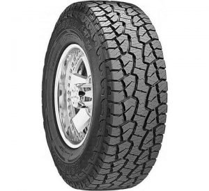 Dynapro all terrain tires from Hankook, one of the best rock crawling tires