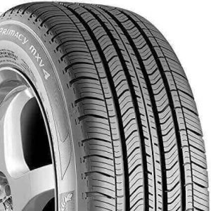 Primacy MXV4 radial tire for quiet driving, made by Michelin, one of the best tires for road noise