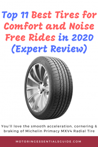 A review and buyer's for the best tire for comfort and noise