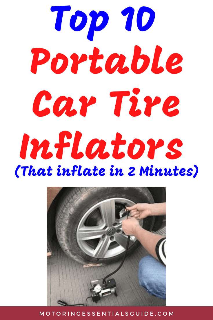 Reviews of the best portable tire inflator for the money, the best portable air pump for car tires