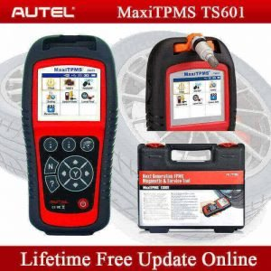 Autel TS601 device for scanning, diagnosing, relearning car tire pressure sensors, best tpms programming tool