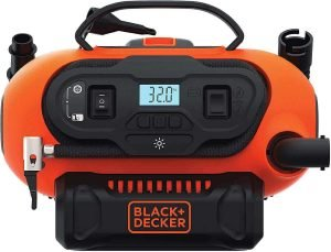 BLACK+DECKER 20V MAX Multi-purpose air inflator, best air compressor for car tires