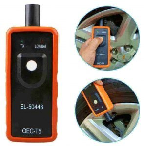 EL-50448 car tire pressure monitor sensor and diagnostic tool made by TekDeals, best tpms programmer, best cheap TPMS tool