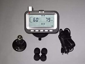 BELLACORP Tire Pressure Monitoring System (Free $50.00 Repeater) for Fifth Wheel, Trailer, Camper, Truck, RVs, best tire pressure monitoring system for rv