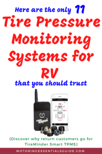 Reviews of the best rv tire pressure monitoring system, best tpms for rv