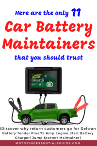 A review of the best battery tender for car storage, best battery tender for car, best car battery maintainer