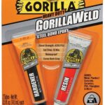 Gorilla Heavy Duty GorillaWeld Steel Bond 2-Part Epoxy, best epoxy for cracked engine
