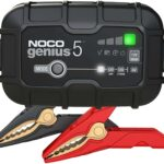 NOCO GENIUS5, 5-Amp Fully Automatic Smart Charger, 6V And 12V Battery Charger, Maintainer, and Battery Desulfator, best car battery maintainer