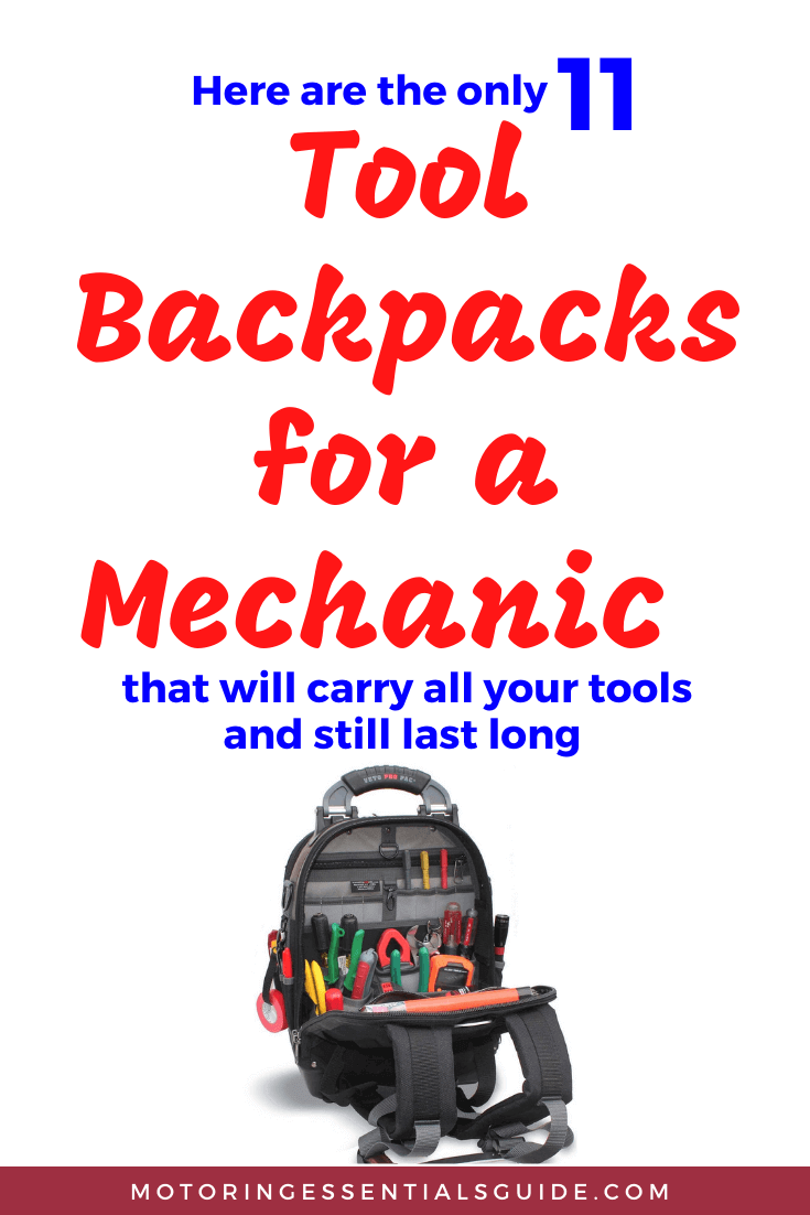The ultimate review of the best tool backpack for mechanic, best mechanic tool bag, best heavy duty tool backpack, best tool bag with wheels. The best tool backpack review.