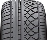 Asymmetrical tire tread design