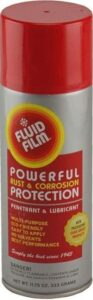 Fluid Film Powerful Rust and Corrosion Protection, Metal Surfaces Penetrant and Lubricant for Marine, Automotive, Industrial, Home use and much more. best undercoating for rust, best under car rust protection, best undercarriage rust spray