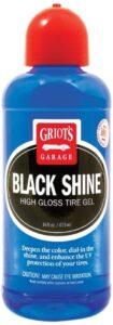 Griot's Garage 10995 Best Black Shine Tire Gel 16oz. best tire dressing that last, best and longest lasting tire shine