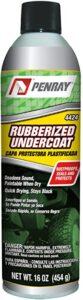 Penray 4424 Best Rubberized Undercoat - 16-Ounce Aerosol Can. best rustproof undercoat for cars, best rust inhibitor for cars, best undercoating product