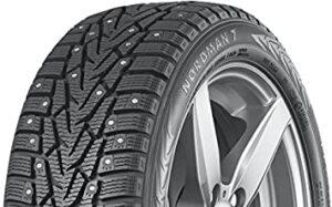 Nokian Nordman Studded Winter Tire. best wet traction tire